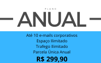 Plano Gold ANUAL: 10 webmails